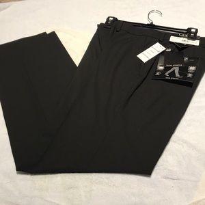 Ralph Lauren Black Total Stretch Slim-Fit Pants